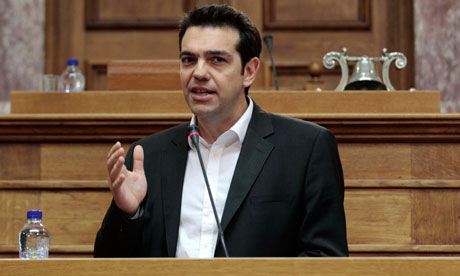 Alexis Tsipras said Syriza refused to enforce austerity measures in Greece